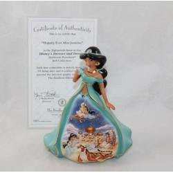 Figura de porcelana Jasmine DISNEY Bradford Ediciones Bell Aladdin Este Sueño Azul EL