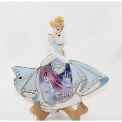 Placa de pared decorativa Cinderella DISNEY Bradford Exchange Fairest Dreamer EL