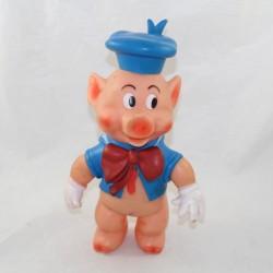 Pouet Pouet Nif-Nif cerdo DELACOSTE DISNEY Los 3 pequeños cerdos de pvc vintage 1968