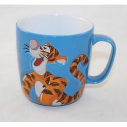 Mug embossed Tigger DISNEYLAND PARIS blue cup ceramic
