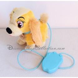 Peluche interactive Lady DISNEY STORE La Belle et le Clochard chienne Belle 18 cm