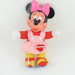 Vestido de muñeca Minnie DISNEY MATTEL vintage rojo rosa 38 cm