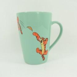 Mug Tigger DISNEY STORE bond sheet green ceramic cup