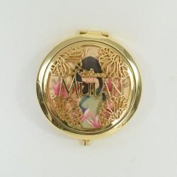 Miroir compact Mulan DISNEY Primark miroir de proche doré
