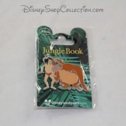 Pin's Mowgli e Re Louie DISNEYLAND PARIGI Il libro della giungla Disney 4 cm