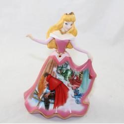 Aurora porcellana figura DISNEY Bradford Edizioni Bell Sleeping Beauty
