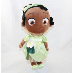 Muñeca de felpa Tiana DISNEY STORE La princesa y la rana niña 32 cm