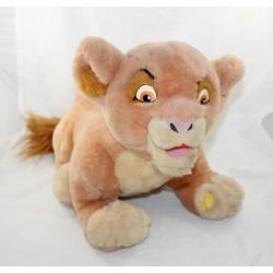 Peluche parlante lionne Kiara DISNEY LANSAY Le Roi lion 2 vintage 45 cm
