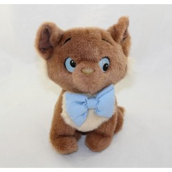 Peluche Toulouse cat DISNEY The Aristochats Disney vintage brown cat 20 cm