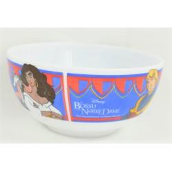 The Hunchback Bowl of Notre Dame ARCOPAL Disney Esmeralda Phoebus ceramic