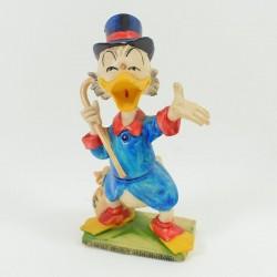 Figure Uncle Picsou WALT DISNEY PRODUCTIONS vintage pvc 13 cm