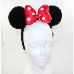 Minnie DISNEY PARKS ears minnie Mouse red knot Disney headband