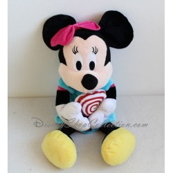 Plush Minnie DISNEY dress blue candy lollipop 45 cm