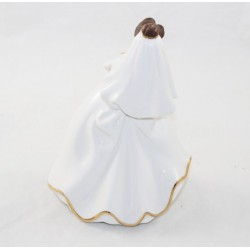 Hermosa figura de porcelana DISNEY Bradford Ediciones Bell Beauty y la Bestia Novia Edición Limitada