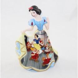Figurine porcelaine Blanche-Neige DISNEY Bradford Editions Bell édition limitée