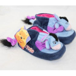 Donkey slippers Bourriquet DISNEY Winnie the blue cub child Eeyore 26/27
