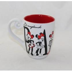 Mug Minnie DISNEYLAND PARIS Paris paris white red fashion
