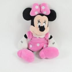 Little plush Minnie DISNEY STORE dress pink white polka dots 25 cm