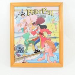 Cadre Peter Pan DISNEY édition Beascoa cadre en bois 33 x 27 cm