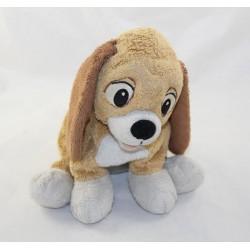 Peluche chien Rouky DISNEYLAND PARIS Rox et Rouky Disney 25 cm
