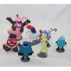Lot of 7 figurines Vice Versa DISNEY STORE pvc 12 cm