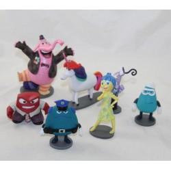 Lotto di 7 figurine Vice Versa DISNEY STORE pvc 12 cm