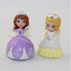 Lot of 2 figurines Princess Sofia DISNEY Sofia and her sister Amber