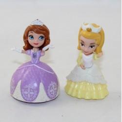 Lote de 2 figuras princesa Sofía DISNEY Sofía y su hermana Amber