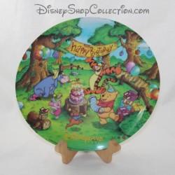 Piatto in ceramica DISNEY Winnie Pooh e gli amici 24 cm