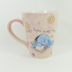 Mug embossed Bourriquet DISNEY STORE Exclusive Hungry Eeyore ceramic pink