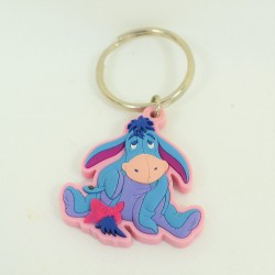 Key door donkey Bourriquet DISNEY pink blue pvc 7 cm