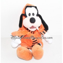Peluche Dingo DISNEY peignoir orange PTS SRL 40 cm
