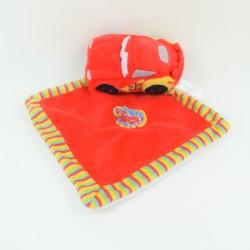 Doudou handkerchief Flash McQueen NICOTOY Disney Cars red car