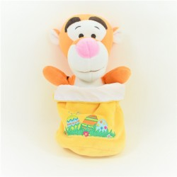 Tigger withNY DISNEY NICOTOY yellow Easter basket egg hunt 20 cm