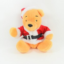 Winnie the BEAR CUB DISNEYLAND PARIS disguised as Santa Claus 26 cm