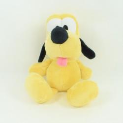Perro con Plutón DISNEY NICOTOY amarillo clásico 26 cm