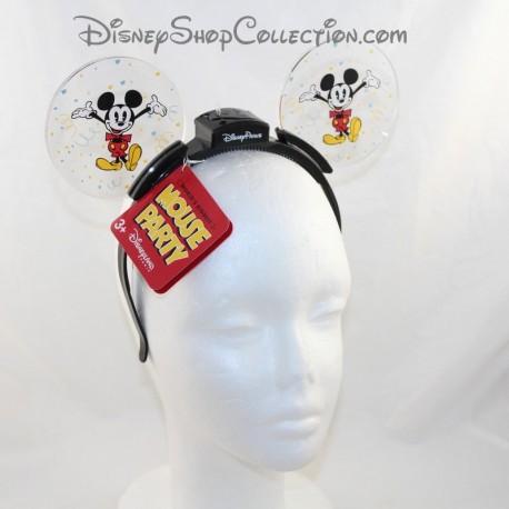Mickey DISNEY PARKS Headband Bright HeadBand Mickey Mouse Pvc Ears