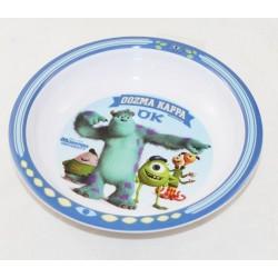 Assiette creuse Monstres et compagnie DISNEY PIXAR enfant plastique Monster academy