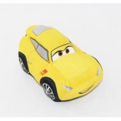 Peluche voiture Cruz Ramirez DISNEY Cars voiture jaune 15 cm