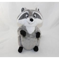 Peluche Meeko DISNEY STORE Pocahontas raccoon 26 cm