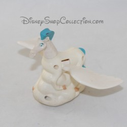 Figurine cheval Pégase MCDONALD'S Disney Hercule blanc bleu 11 cm