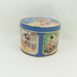 Mickey DISNEYLAND PARIS redondo vintage estilo caja 12 cm