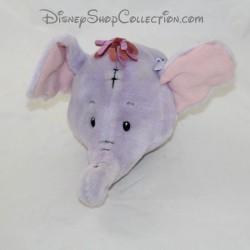 Prenota la testa dell'elefante Lumpy DISNEY Il Babiluches Hachette Efélant testa di peluche 12 cm