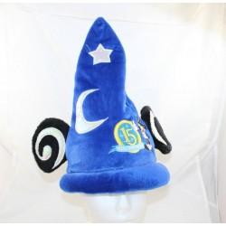 Mickey DISNEYLAND PARIS sombrero 15 años de edad Fantasía estrellas azules y luna Disney 34 cm