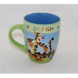 Mug Winnie the CUB DISNEY Star alphabet Tigger Piglet Bourriquet