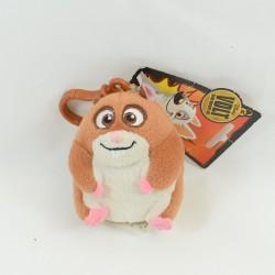 Porte clés peluche Rhino l'hamster Disney GIPSY Volt star malgrè lui 10 cm