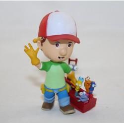 Figura Manny DISNEY Bullyland Manny y sus herramientas de pvc de 8 cm
