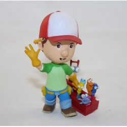 Manny DISNEY Bullyland Manny figure and its 8 cm pvc tools