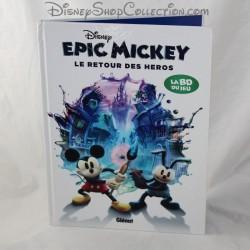 Bande dessinée Epic Mickey DISNEY Le retour des héros La BD du jeu 64 pages