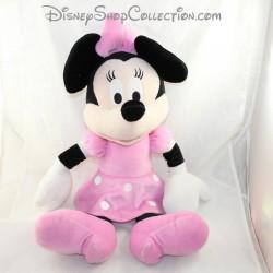 Grande peluche Minnie PTS SRL Disney robe rose 62 cm